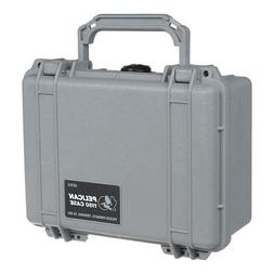 Pelican 1150 Watertight Hard Case Without Foam Insert - Silv
