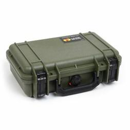 Pelican 1170 OD Green & Black case with foam.