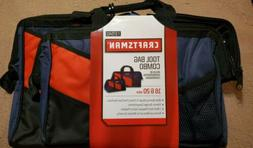 "Craftsman 16"" & 20"" inch Tool Bag Combo Storage Pouch Organi"