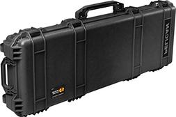 1720 Long Hard Case Blk W/Foam W/Wheels 42x13.5x5.25 3pc Foa