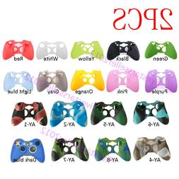2X Rubber Skin Silicone Gel Protective Cover For Microsoft X