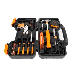39Pcs Tool Set Household Kit Womens Ladies Carrying Toolbox