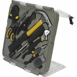Trades Pro 55 Piece Home and Office Hand Tool Kit Set with C