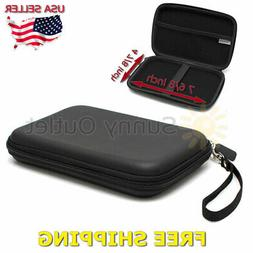 7 inch hard shell carrying case