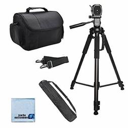 72'' Inch Camera Tripod & Carrying Case for Canon 5D D MARK