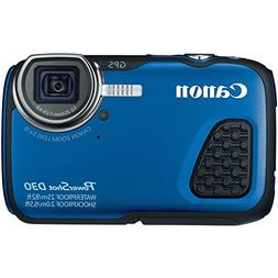 Canon PowerShot D30 Waterproof Digital Camera, Blue