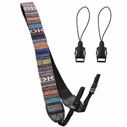 Eggsnow Camera Shoulder Neck Strap Vintage Belt for All DSLR