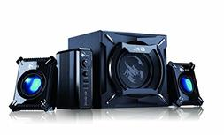 Genius SW-G2.1 2000 2.1 Channel 45 Watts RMS Gaming Woofer S