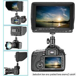 Neewer 7 inches 4K HD On-Camera Field Monitor for Canon Niko