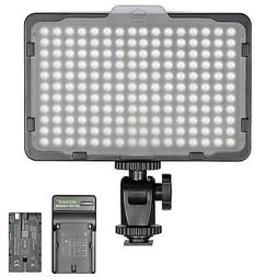 Neewer Dimmable 176 LED Video Light on Camera LED Panel with