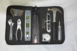 New Tool Set, Zippered Carrying Case, 11 x 7 x 2.5