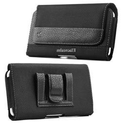 Rugged Belt Clip Holster Pouch Carrying Case Cover For Apple