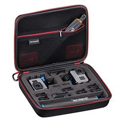 Smatree Carrying Case for GoPro Hero 7/6/5/4/3+/3/ GoPro Her