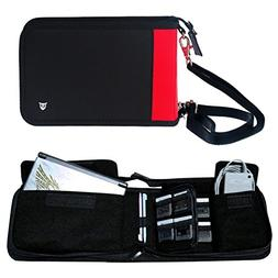 Technoskin - All In One Travel Carrying Case for NEW 3DS or