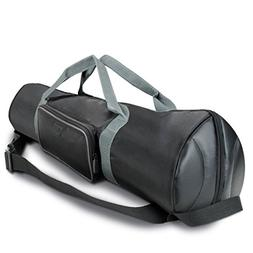 Padded Tripod Case Bag with Expandable Compartment & Accesso