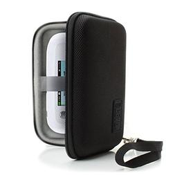 USA Gear WiFi Hotspot Portable Mobile Carrying Case with Det