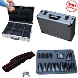 Aluminum Barber Case Big Carrying Supplies Clippers Tool Tra