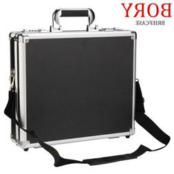 aluminum hard briefcase business office outdoor carrying