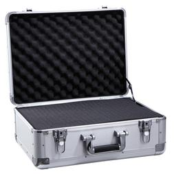 Aluminum Hard Case Sturdy Equiment Instrument Carrying Case