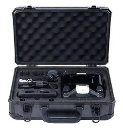 HUL Aluminum Hard Shell Carrying Case for DJI Spark with DJI