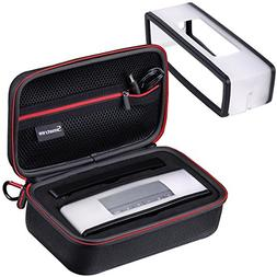 Smatree Hard Travel Carrying Case with Black Soft Cover for