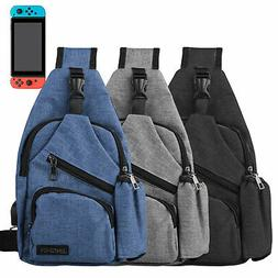 Backpack Travel Bag Protective Carrying Case w/ USB Charging