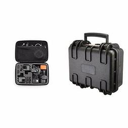 Basics Small Hard Camera Carrying Case - 12 x 11 x 6 Inches