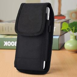 Belt Clip Vertical Holster Pouch Carrying Case Cover For iPh