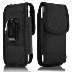 Belt Clip Vertical Holster Pouch Carrying Case Cover For App