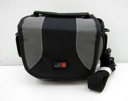 DURAGADGET Black & Grey Padded Protective Camera Carry Case