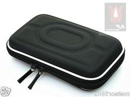 "Black Hard Carry Case Cover Bag Zipper Cover Pouch 2.5"" HDD"