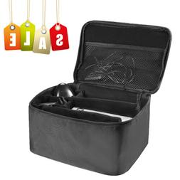 Black Multifunctional Travel Carrying Case Bag for Nintendo