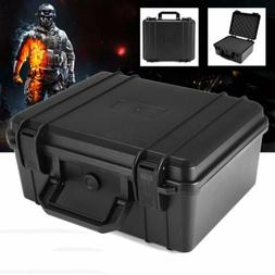 Black Water Resistant Hard Plastic Camera Carry Case Tool BO
