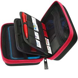 BRENDO Hard Carrying Case with Handle for New Nintendo 2DS X