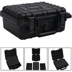 Camera Case with Foam Protective Equipment Hard Carry Tool S