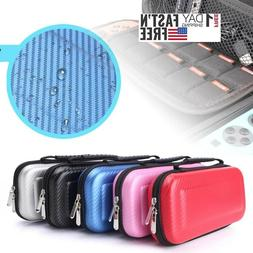 Carrying Case  Fiber Hard Shell Portable Pouch Travel Bag Fo
