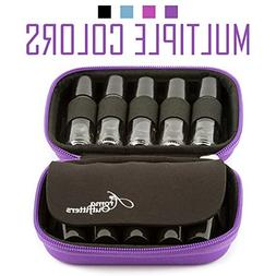 Carrying Case Natural Essential Oil Fits TEN 10ml Roller Bot