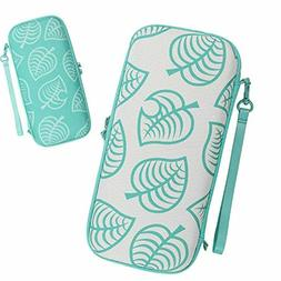 Carrying Case for Nintendo Switch, Turquoise Animal Crossing