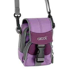 REIKO SMALL CARRYING CAMERA CASE S SIZE INCHES IN PURPLE