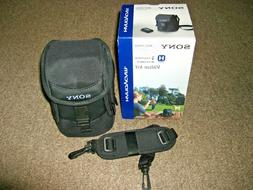 Sony Carrying Case with Shoulder Strap LCS-VAC for Camera Ha