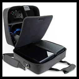 USA Gear Case Compatible W Xbox One/Xbox One X Travel Carryi