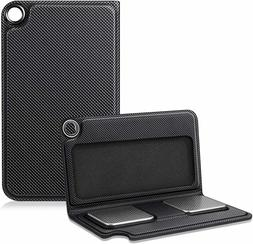 Case for KardiaMobile EKG Heart Monitor PU Leather Carrying