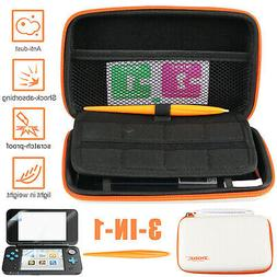 Case For Nintendo 2DS XL/LL Hard Protective Carrying Bag Scr