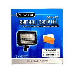 NEEWER CN-160 Dimmable LED Video Light for Canon Nikon Camer