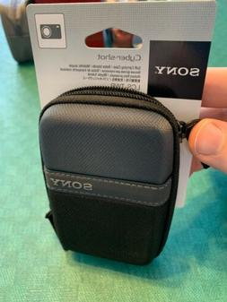 SONY CYBER-SHOT SOFT CARRYING CASE | NEW | BLACK LCS-TWP Bel