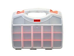 Deluxe Double Sided Storage Organizer Carrying Case with 36
