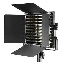 Neewer Dimmable Bi-color Studio LED Video Light with U Brack