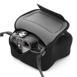 DSLR Camera Case Holster Sleeve by USA GEAR with Belt Loop