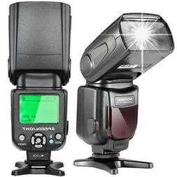 Neewer E-TTL Speedlite Flash with LCD Display for Canon 7D M