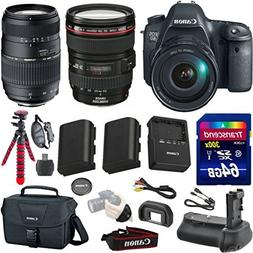 Canon EOS 6D 20.2 MP Full-Frame CMOS Digital SLR Camera Bund